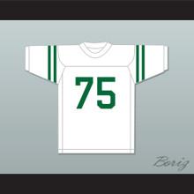 Deacon Jones 75 Mississippi Valley State Delta Devils White Football Jersey 1