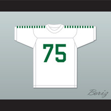 Deacon Jones 75 Mississippi Valley State Delta Devils White Football Jersey 2