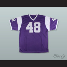 Gale Sayers 48 Omaha Central High School Eagles Purple Football Jersey