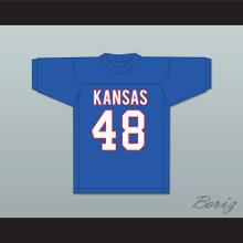 Gale Sayers 48 University of Kansas Jayhawks Blue Football Jersey