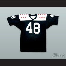 Gale Sayers 48 1965 College All-Star Black Football Jersey
