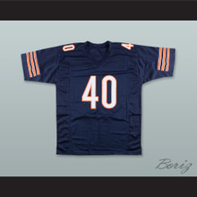 Gale Sayers 40 Chicago Navy Blue Football Jersey Brian's Song