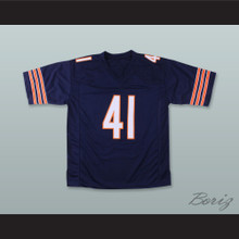 Brian Piccolo 41 Chicago Navy Blue Football Jersey Brian's Song