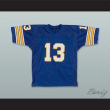Dan Marino 13 Pittsburgh Panthers Blue Football Jersey