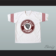 Jackson Whittemore 37 Beacon Hills Cyclones Lacrosse Jersey White