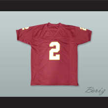 Deion Sanders 2 Florida State Seminoles Red Football Jersey