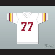 Anthony Munoz 77 USC Trojans White Football Jersey