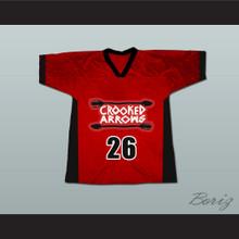 Crooked Arrows Tyler Hill Silverfoot Lacrosse Jersey Red