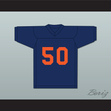 Dick Butkus 50 Illinois Fighting Illini Navy Blue Football Jersey