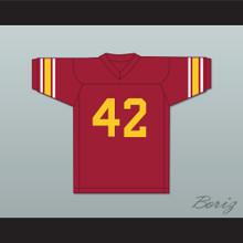 Ronnie Lott 42 USC Trojans Red Football Jersey