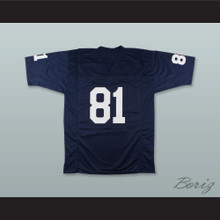 Alan Page 81 Notre Dame Navy Blue Football Jersey