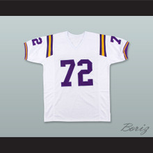Bob Lilly 72 TCU Horned Frogs White Football Jersey