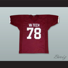 Bruce Smith 78 Virginia Tech Hokies Maroon Football Jersey