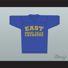 Steve Stifler 4 East Great Falls Lacrosse Jersey Blue