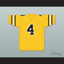 Brett Favre 4 Southern Miss Golden Eagles Yellow Gold Football Jersey