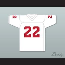 Ray Lewis 22 Kathleen High School Red Devils White Football Jersey 1