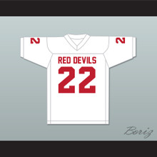 Ray Lewis 22 Kathleen High School Red Devils White Football Jersey 2