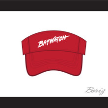 Baywatch Lifeguard Red Baseball Visor Hat