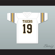 Eric Dickerson 19 Sealy High School Tigers White Football Jersey