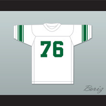 Gino Marchetti 76 San Francisco Dons White Football Jersey
