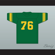Gino Marchetti 76 San Francisco Dons Green Football Jersey
