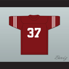 Jim Parker 37 Scott High School Bulldogs Maroon Football Jersey 1