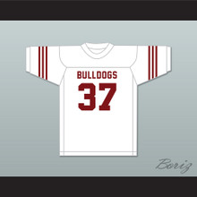 Jim Parker 37 Scott High School Bulldogs White Football Jersey 2