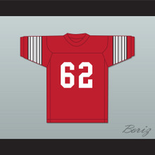 Jim Parker 62 Ohio State Red Football Jersey
