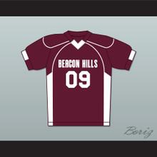 Liam Dunbar 09 Beacon Hills Cyclones Lacrosse Jersey Teen Wolf