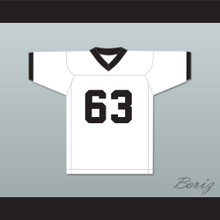 Mike Singletary 63 Worthing High School Colts White Football Jersey 1