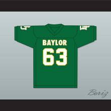 Mike Singletary 63 Baylor Bears Green Football Jersey 1