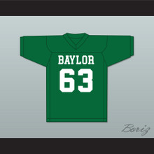 Mike Singletary 63 Baylor Bears Green Football Jersey 2