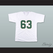 Mike Singletary 63 Baylor Bears White Football Jersey