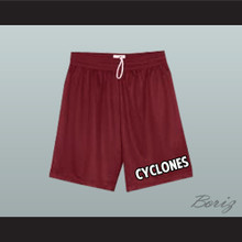 Beacon Hills Cyclones Lacrosse Shorts Teen Wolf All Sizes