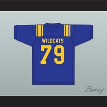 Forrest Gregg 79 Sulphur Springs High School Wildcats Blue Football Jersey 2