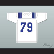 Forrest Gregg 79 Sulphur Springs High School Wildcats White Football Jersey 1