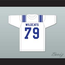 Forrest Gregg 79 Sulphur Springs High School Wildcats White Football Jersey 2