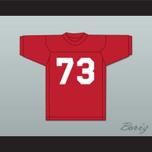 Forrest Gregg 73 SMU Mustangs Red Football Jersey 1
