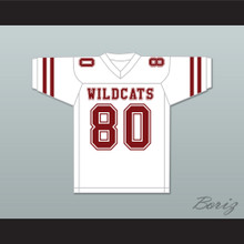 Terrell Owens 80 Benjamin Russell High School Wildcats White Football Jersey