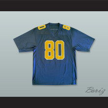 Terrell Owens 80 Chattanooga Mocs Navy Blue Football Jersey 1