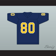Terrell Owens 80 Chattanooga Mocs Navy Blue Football Jersey 2