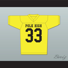 Al Bundy Polk High Football Jersey Married With Children Ed O' Neill Yellow