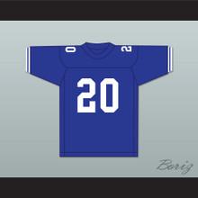 Earl Campbell 20 John Tyler High School Lions Blue Football Jersey 1