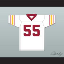 Junior Seau 55 USC White Football Jersey