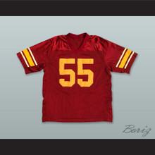 Junior Seau 55 USC Maroon Football Jersey