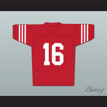 Al Bundy 16 Red Football Jersey Married With Children Ed O' Neill