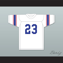 Lance Alworth 23 Brookhaven High School Mississippi White Football Jersey 1