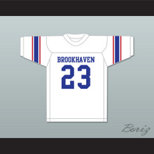 Lance Alworth 23 Brookhaven High School Mississippi White Football Jersey 2