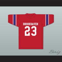 Lance Alworth 23 Brookhaven High School Mississippi Red Football Jersey 2