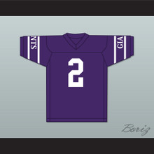 Charles Woodson 2 Fremont Ross High School Little Giants Purple Football Jersey 1
